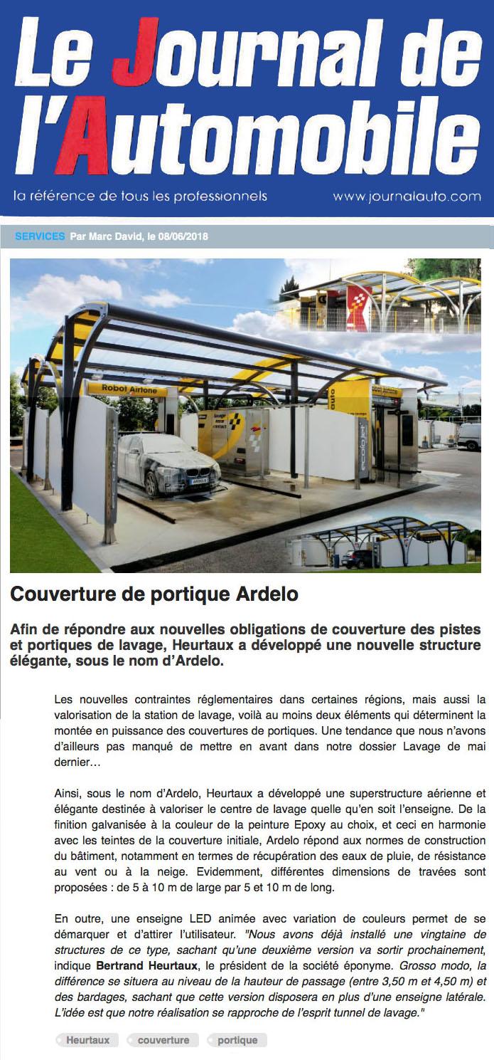 Couverture de portique Ardelo