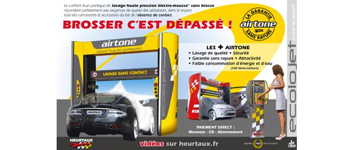 Le lavage sans brosse avec le robot haute pression airtone - Laver sa voiture au rouleau ...